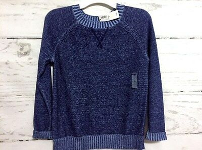 NWT $24.94 Old Navy Cotton Pullover Crewneck Sweater Girl's Size M - 8