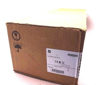 New Sealed Allen Bradley 1756-A13 13 Slot Chasis Ser.b 1756A13