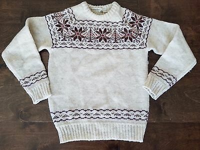 Vintage Boys Kiltmaker Fair Isle Sweater 6 7