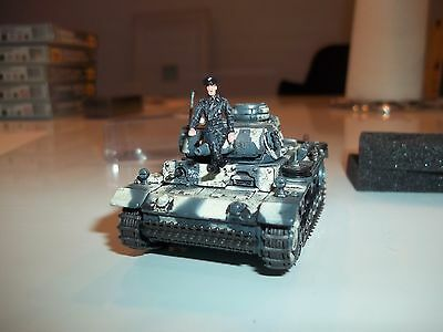 1/72_ Panzer German Tiger Ace Michael Wittmann & Jochen Pieper Metallfiguren