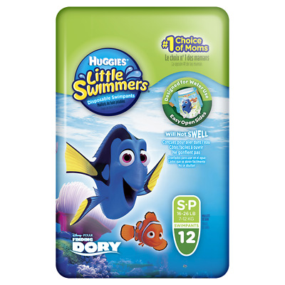 Huggies Little Swimmers Small 12 NEW Cincotta Chemist