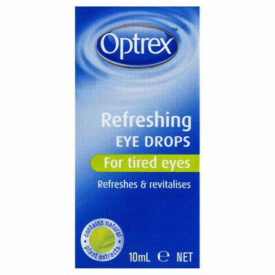 Optrex Refreshing Eye Drops 10ML NEW Cincotta Chemist