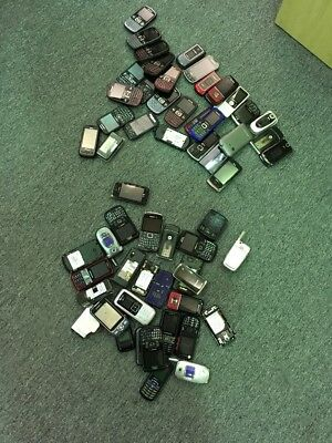 lot of over 60 scarp phones for gold recovery
