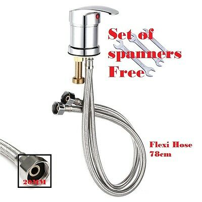 Chrome Mono Bloc Mixer Taps Hairdressing Salon Basins mixertap,Hose Unit
