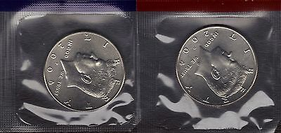 2004-P & 2004-D Uncirculated Kennedy  Half Dollars In Mint Set Cello 2 Coins