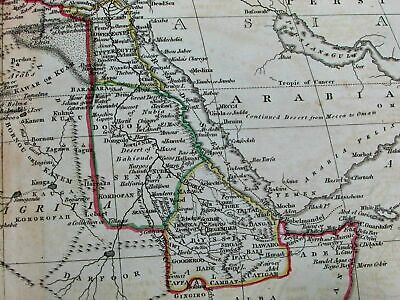 Africa Hottentots vast curious Mts. of Moon 1811 Russell rare folio antique map