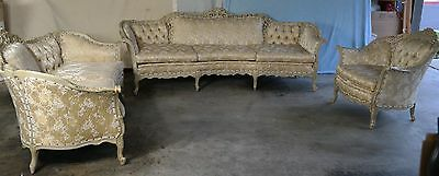 Italian/French Provincial Customized Sofa Set Furniture by Richard Lee