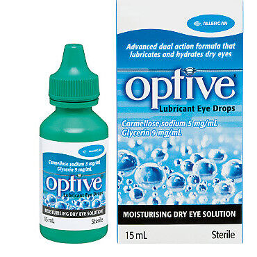 Optive Lubricant Eye Drops 15Ml NEW Cincotta Chemist