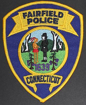 Fairfield Connecticut Police Patch