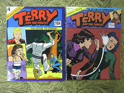 """"""" TERRY and THE PIRATES """" ISSUES 1 to 15 / FLYING BUTTRESS - VERY FINE"""