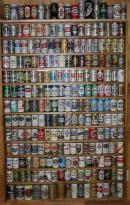 Vintage 200 plus Beer Can Collection No Two the Same