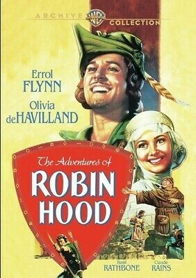 The Adventures Of Robin Hood (1938) [New DVD] Manufactured On Demand, Full Fra