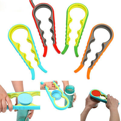 4 In 1 Gourd Shape Bottle Wrench Fancy Kitchen Tool Can Opener Screw Cap Jar J