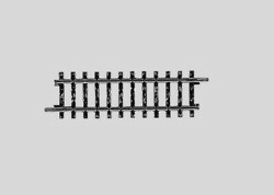 MARKLIN - 02201 - Track Straight.90 mm HO 3 rail