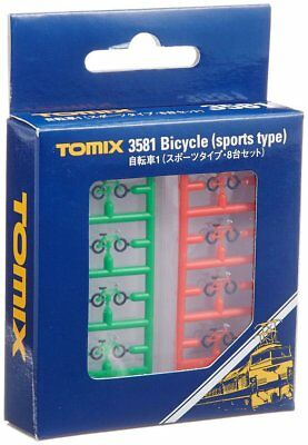 Tomytec - To3581 - Bicycles X 8 (N Scale)