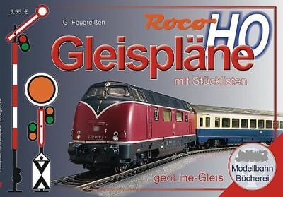 ROCO -81397 - Roco geoLine Track Plains Book German Text - HO scale
