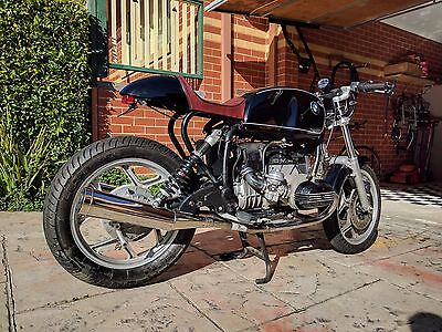 1985 BMW R80 Cafe Racer Motorcycle - Keyless Start, Digital Dash, Motogadget