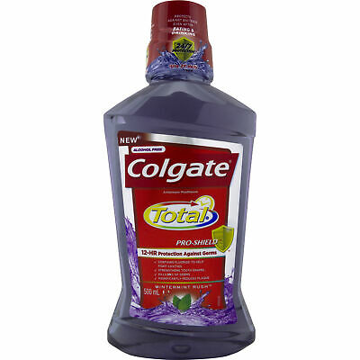 Colgate Total Moth Wash Wintermint 500ML NEW Cincotta Chemist