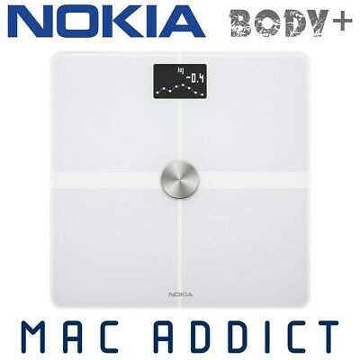 NOKIA (Withings) Body+ Bluetooth Smart Scale WHITE | Composition | Weight Loss