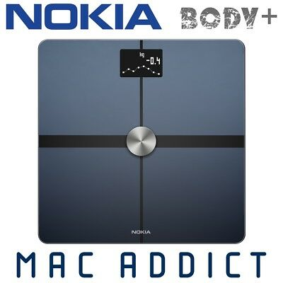 NOKIA (Withings) Body+ Bluetooth Smart Scale BLACK | Composition | Weight Loss