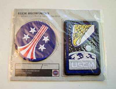 Alien UCSM Stars and Bars and Screaming Eagle Embroidered Patch - Official NEW