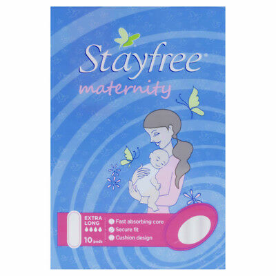 Stayfree Maternity No Wing 10 NEW Cincotta Chemist