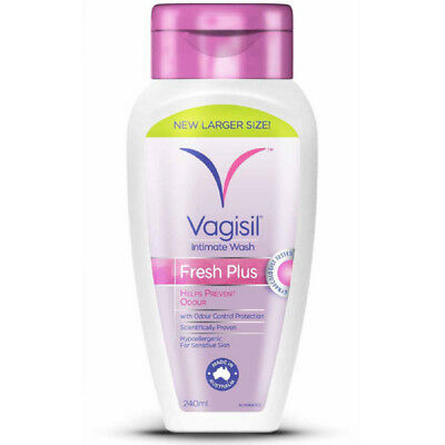 Vagisil Intimate Wash Fresh Plus 240ml NEW Cincotta Chemist