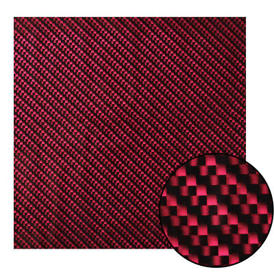 100cm x 100cm PVA Dipping Hydrographics Water Transfer Printing Red Carbon Film