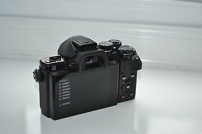 OLYMPUS OM-D E-M10 Mark II DIGITAL CAMERA +++Excellent Condition+++