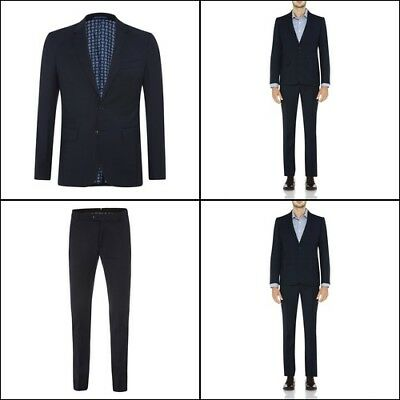 New Oxford AUDEN WOOL SUIT JACKET NAVY X WITH MATCHING TROUSERS