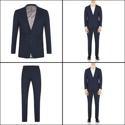 New Oxford HOPKINS PEAK LPL WOOL JACKET BLUE X WITH MATCHING TROUSERS