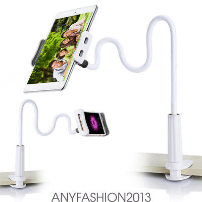 Universal Flexible Arm Desktop Bed Lazy Holder Mount Stand for Tablet iPad QM5