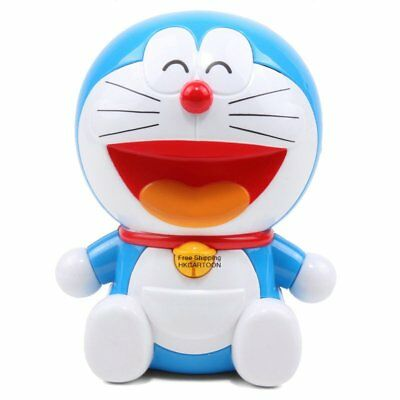 Doraemon Cartoon Plastic Coin Bank Piggy Bank 900316