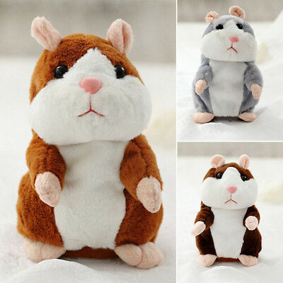 Baby Talking Hamster Plush Toy Sound Record Speaking Hamster Talking Toys Gifts