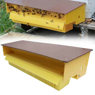 Removable Yellow Plastic Bee Pollen Trap For Apiculture Beekeeping Tools