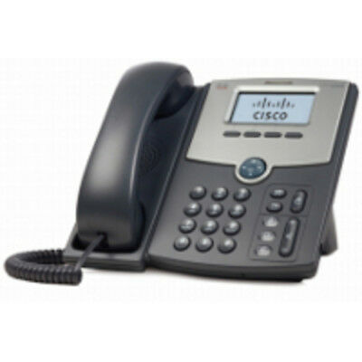 1 Line Ip Phone With Display Poe And Gbit Pc Port Cisco Spa512G