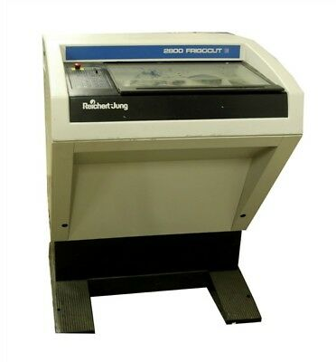 Reichert Jung, Cryostat Microtome Model 2800 09723 (See video)