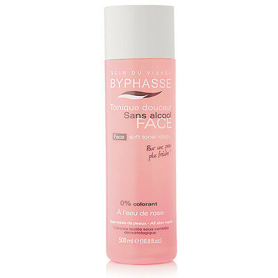BYPHASSE - Face Soft Toner Lotion (alcohol free) 500ml