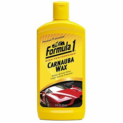 Original Formula 1 CARNAUBA WAX Car Liquid Polish 473ml 16oz High Performance