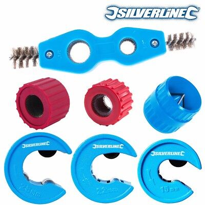 18/22/28mm PIPE CUTTERS & WHEELS + CLEANERS/DEBURRERS Copper Tube Spare Deburr