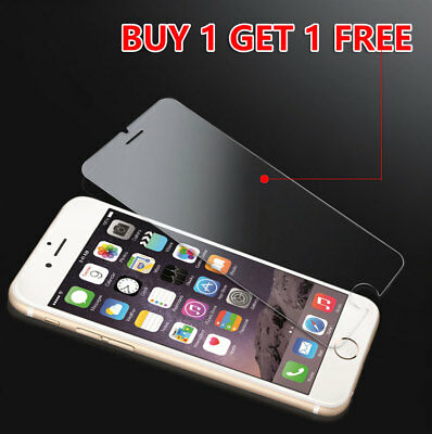 Genuine Tempered Glass Film Screen Protector For Apple iphone 6, 6S, 7