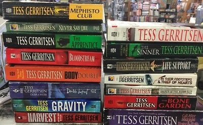 Lot Of 15 Tess Gerritsen Paperbacks