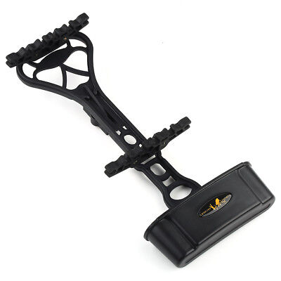 Archery 6-Arrow Quiver Holder Adjustable Tube Frame For Compound Bow Black/Camo