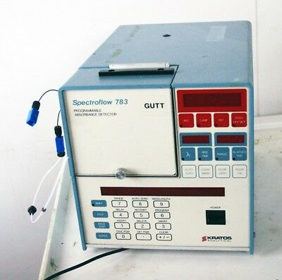 Kratos Model 783 Programmable Absorbance Detector 05305 (See video)