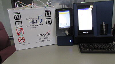 Abaxis Vetscan VS2 & HM5C (2ND GEN) Veterinary CBC Analyzers
