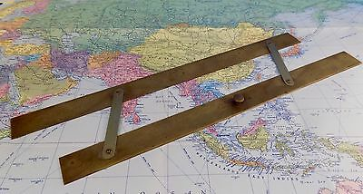 Antique Brass Ship's Parallel Rules