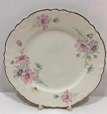 Vintage Homer Laughlin Set Of 9 Plates Filagree Edges Virginia Rose USA B