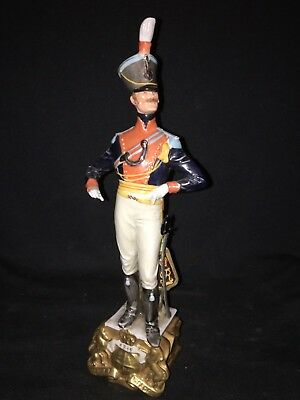 "12 1/4"" Capidimonte Military Figure"