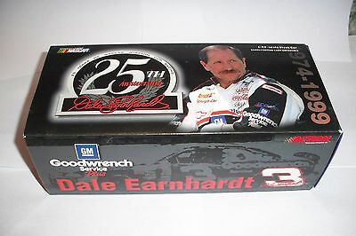 Action 1999 Dale Earnhardt #3 GM Goodwrench Service Plus 25th Anniversary 1:24