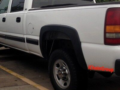 Front, Driver Side New Fender Flare for GMC Sierra 1500 GM1268103 1999 to 2007